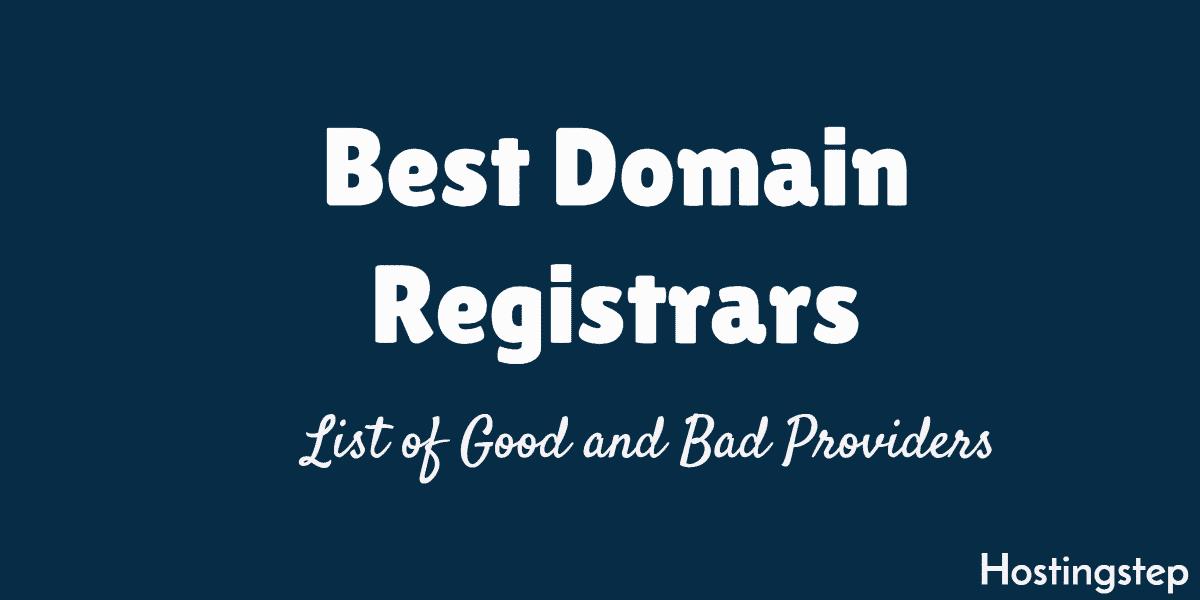 best domain registrars