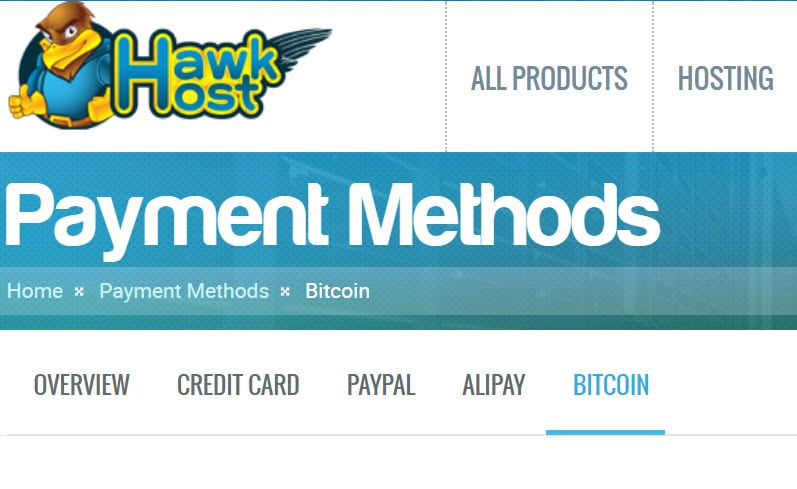 Web Hosting Companies That Accept Bitcoin Payments (2018) 3