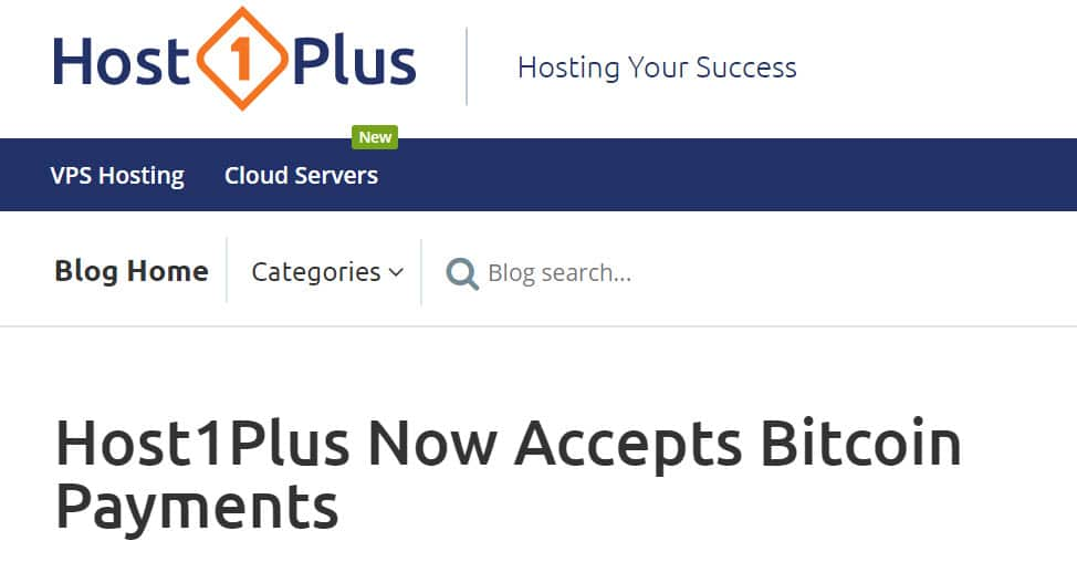 Web Hosting Companies That Accept Bitcoin Payments (2018) 2