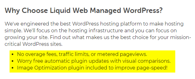 Liquid Web Managed WordPress Hosting Reviews 4