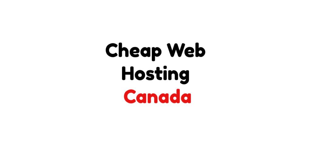 Cheap web hosting canada