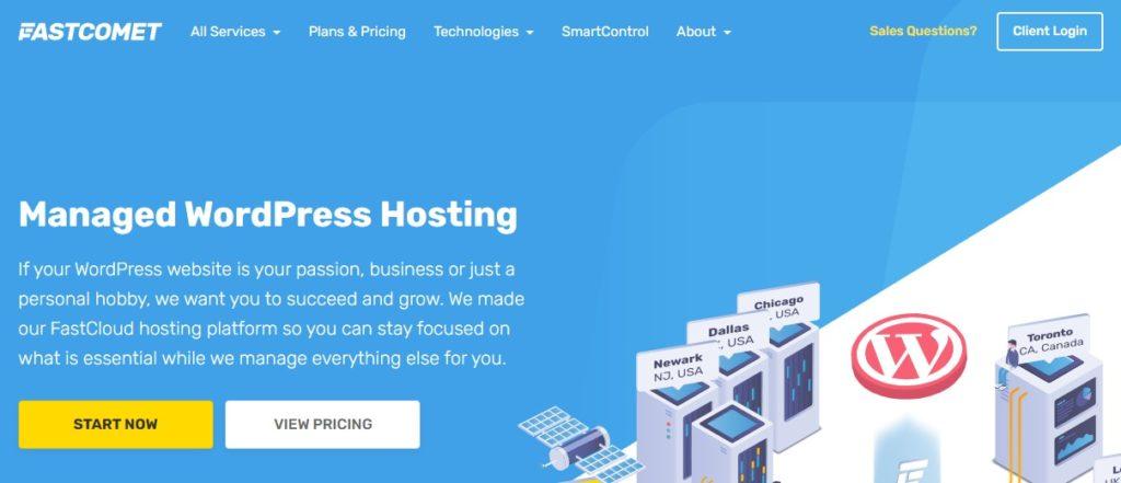 FastComet WordPress