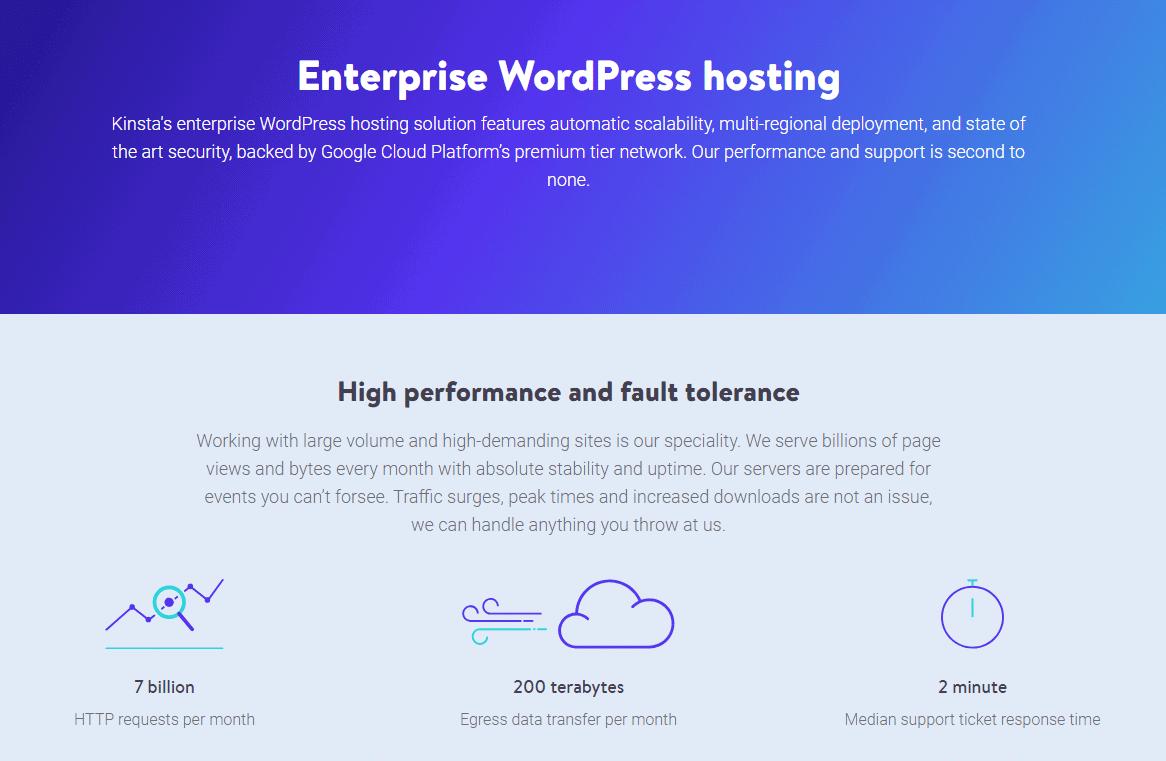 Best Enterprise WordPress Hosting 1