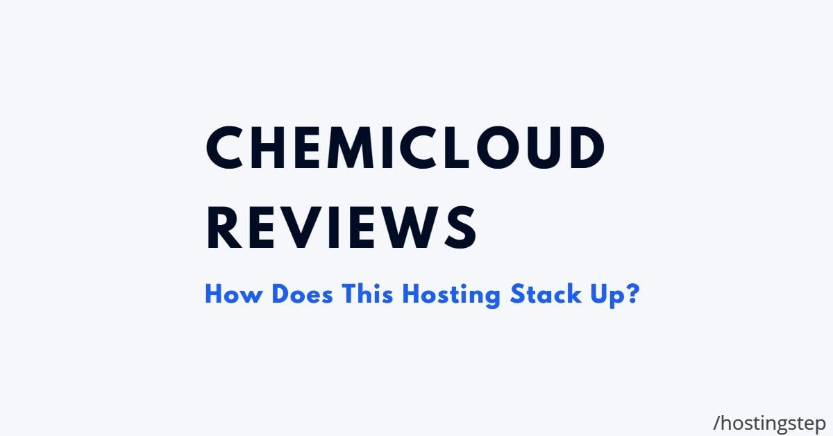 ChemiCloud Reviews