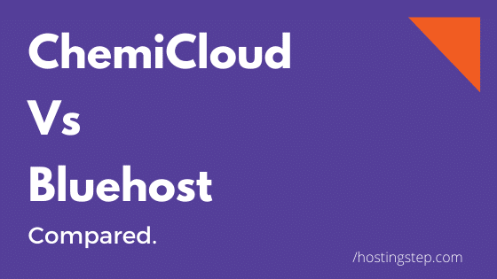 Chemicloud Vs Bluehost