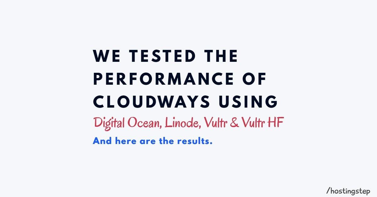 Cloudways Digital Ocean Vs Vultr