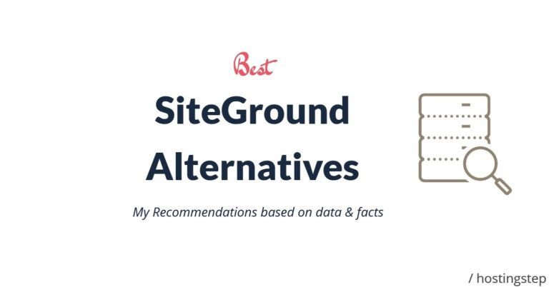 Best SiteGround Alternatives